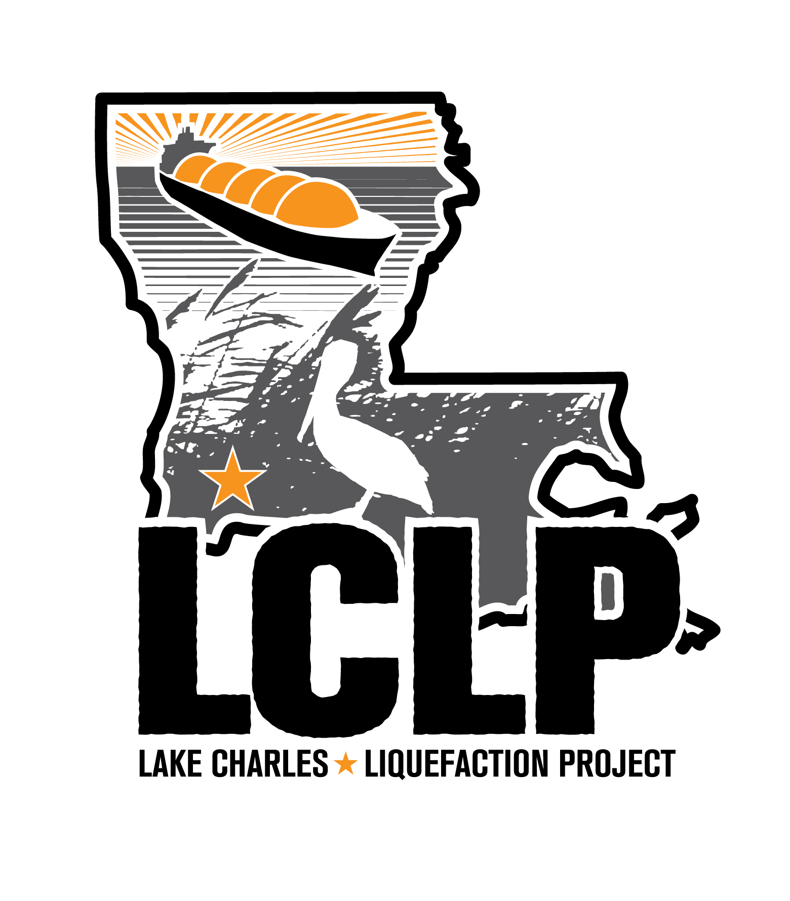 logo design: lake charles liquefaction project.