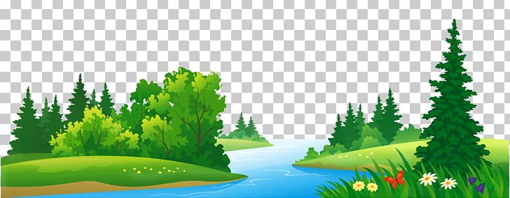 Lake Clipart Wallpaper.