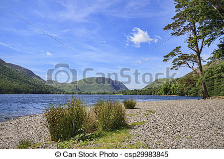 Stock Photo of Buttermere Lake District.