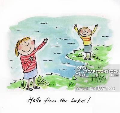 Lake District Cartoons and Comics.