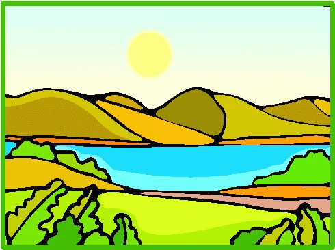 Lake Clip Art.