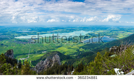 Forggensee Stock Photos, Royalty.