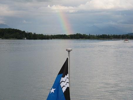Rainbow, Flag.