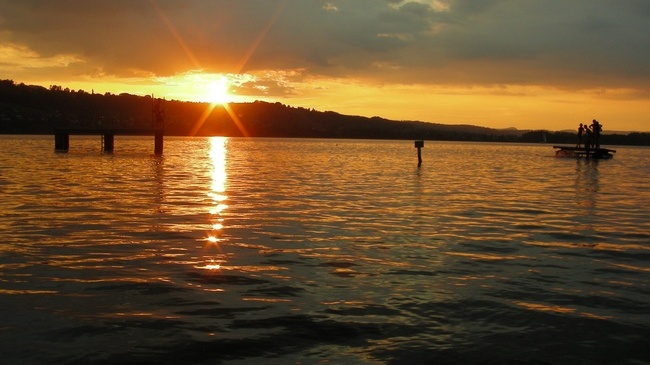 Lake Hallwil.