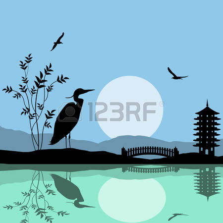 210 Sun Moon Lake Stock Vector Illustration And Royalty Free Sun.