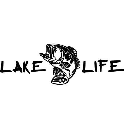 Amazon.com: Lake Life Decal Lake Life Sticker Lake Superior.