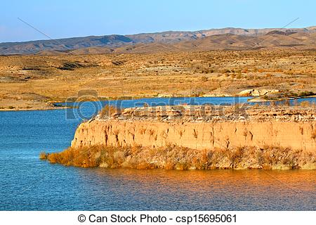 Stock Image of Lake Mead National Recreation Area.