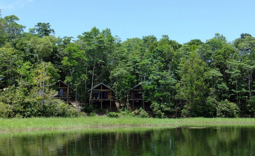 Papua New Guinea's Lake Murray Lodge.