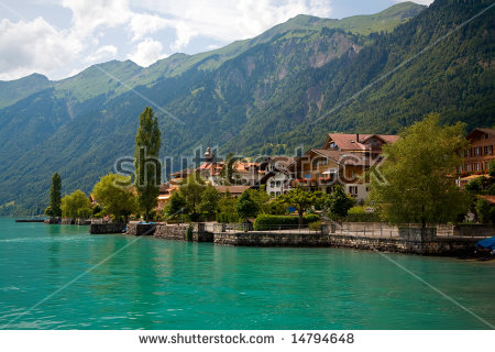Lake Brienz Stock Images, Royalty.