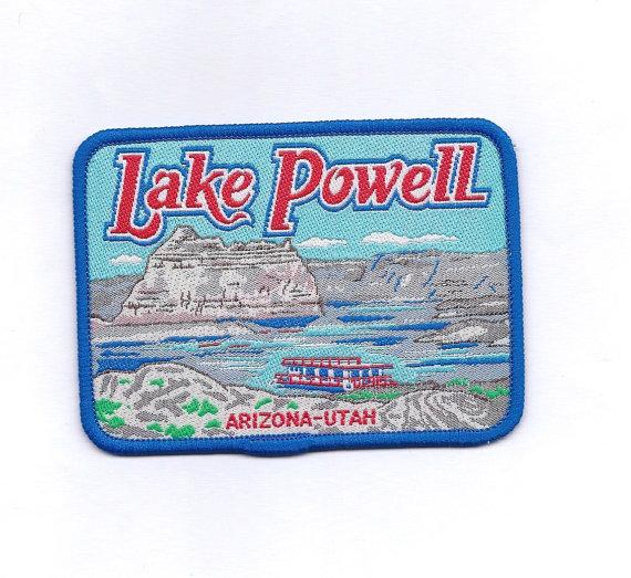 Vintage Lake Powell Arizona.