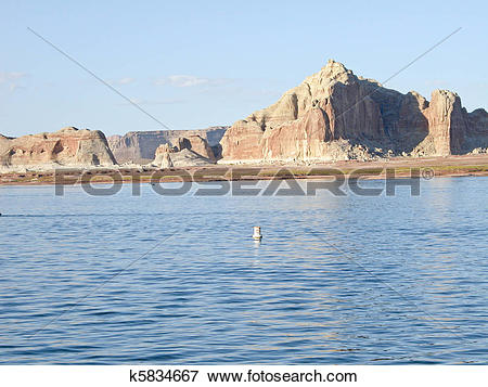 Picture of Lake Powell in Arizona k5834667.