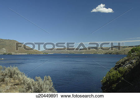 Stock Photography of Coulee Dam, WA, Washington, Grand Coulee Dam.