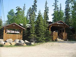 Jan Lake Lodge, SK.