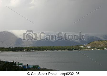 Stock Images of Lake Sevan.