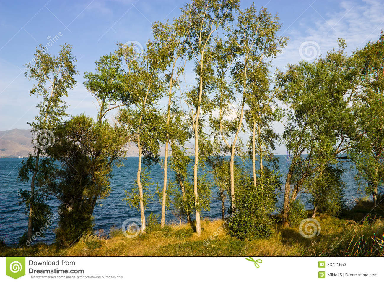 Lake Sevan. Stock Photos.