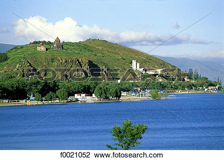 Stock Photo of Armenia, Lake Sevan f0021052.