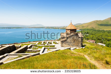 Lake Sevan Armenia Stock Photos, Royalty.