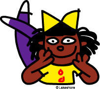 Keisha clip art at Lakeshore Learning.