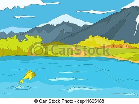 Lake shore Clipart Vector Graphics. 788 Lake shore EPS clip art.