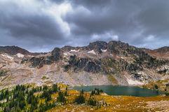 Lake Solitude Grand Tetons Royalty Free Stock Images.