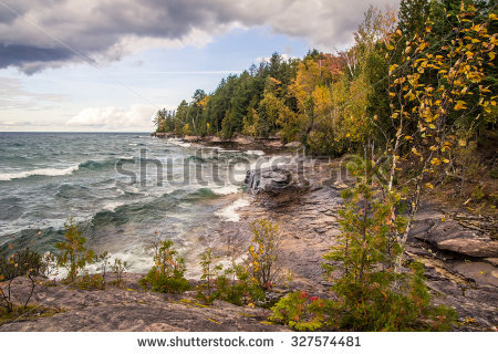 Lake Superior Stock Photos, Royalty.