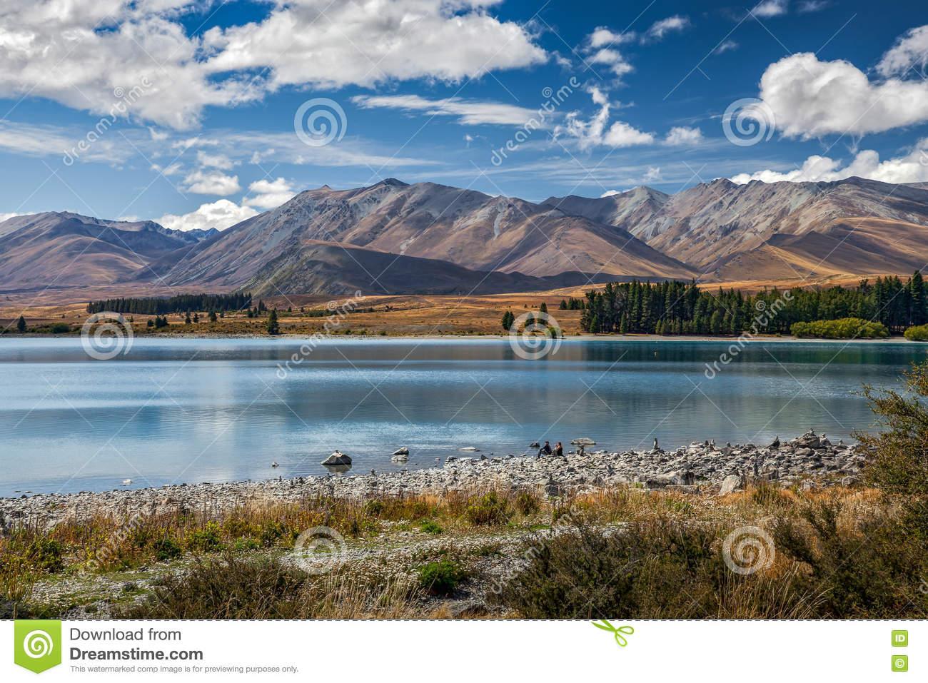 LAKE TEKAPO, MACKENZIE COUNTRY/NEW ZEALAND.