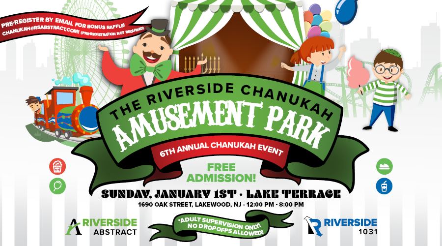 The Lakewood Scoop » This Sunday: The Riverside Chanukah Amusement.