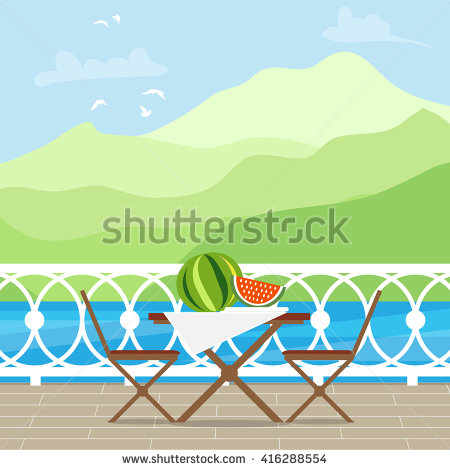 Terrace Sea Stock Vectors, Images & Vector Art.