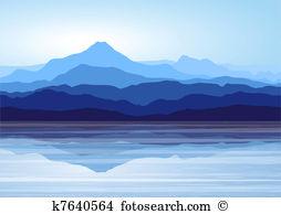 Lake view Clipart Illustrations. 1,507 lake view clip art vector.