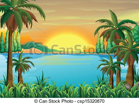 Lake view Clipart Vector Graphics. 1,729 Lake view EPS clip art.