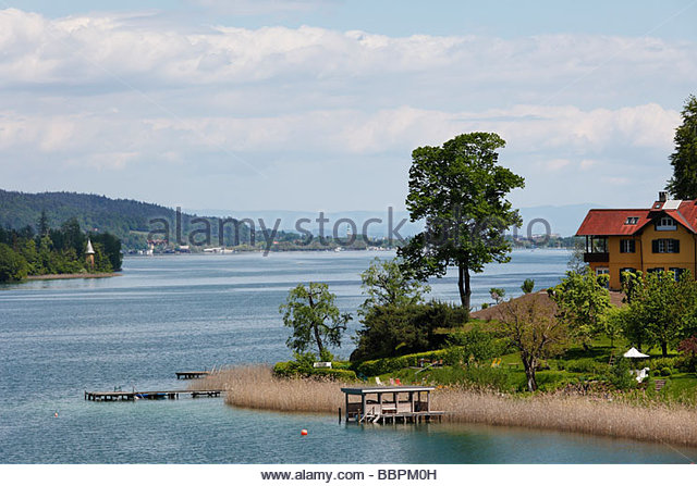 Lake Woerth Austria Stock Photos & Lake Woerth Austria Stock.