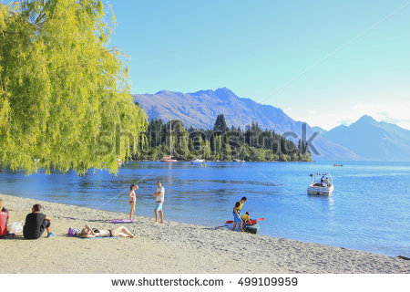 Wakatipu Stock Photos, Royalty.