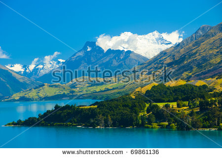 Lake Wakatipu Stock Photos, Royalty.
