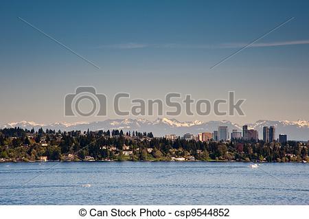 Stock Photo of Lake Washington.