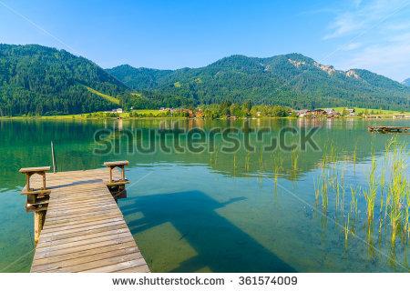 Carinthia Lake Stock Photos, Royalty.