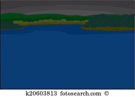 Lakefront Clipart Royalty Free. 9 lakefront clip art vector EPS.