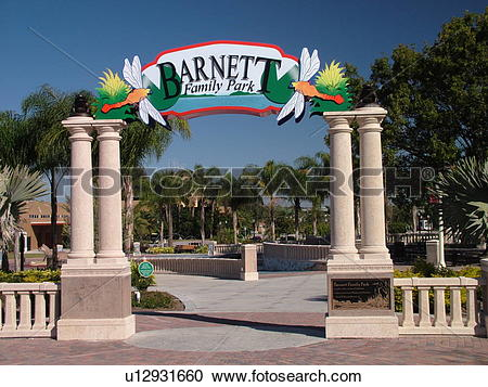Stock Photography of Lakeland, FL, Florida, Polk County, Barnett.