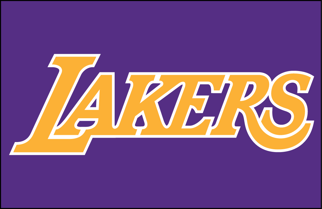 Los Angeles Lakers Jersey Logo.