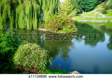 Stock Photograph of Lakescape in Poland k11134699.