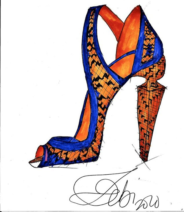 The Next BIG Shoe Designer: OBI CYMATICA.