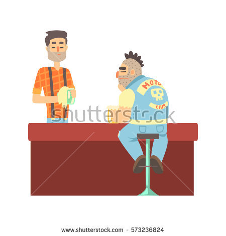 Barman Stock Images, Royalty.