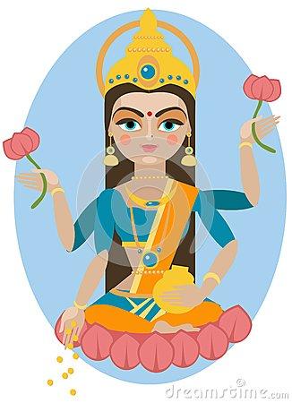 Lakshmi Stock Illustrations.
