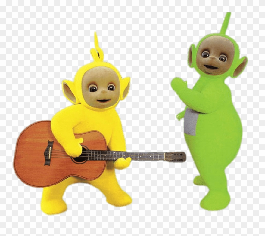 Teletubbies Dipsy And Lala.