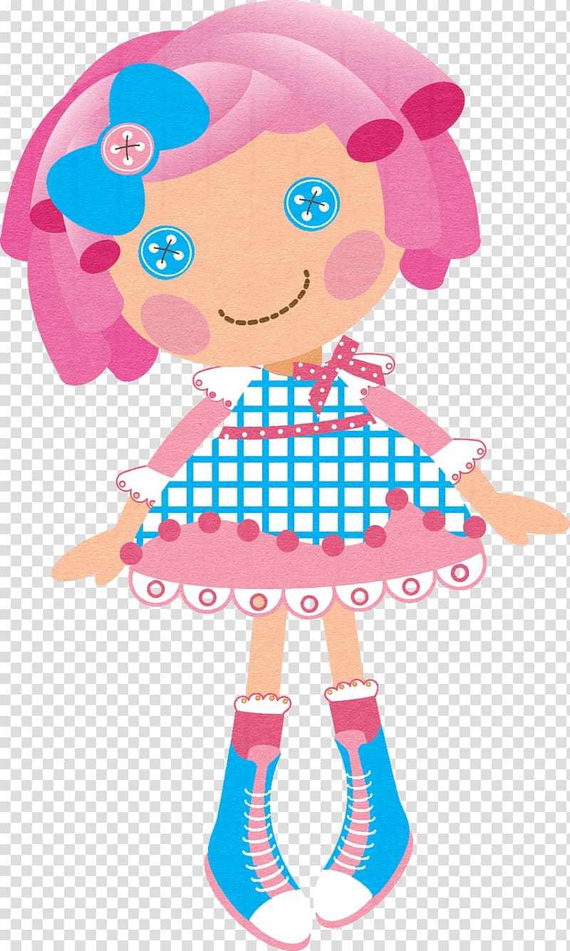Lalaloopsy Doll , P transparent background PNG clipart.