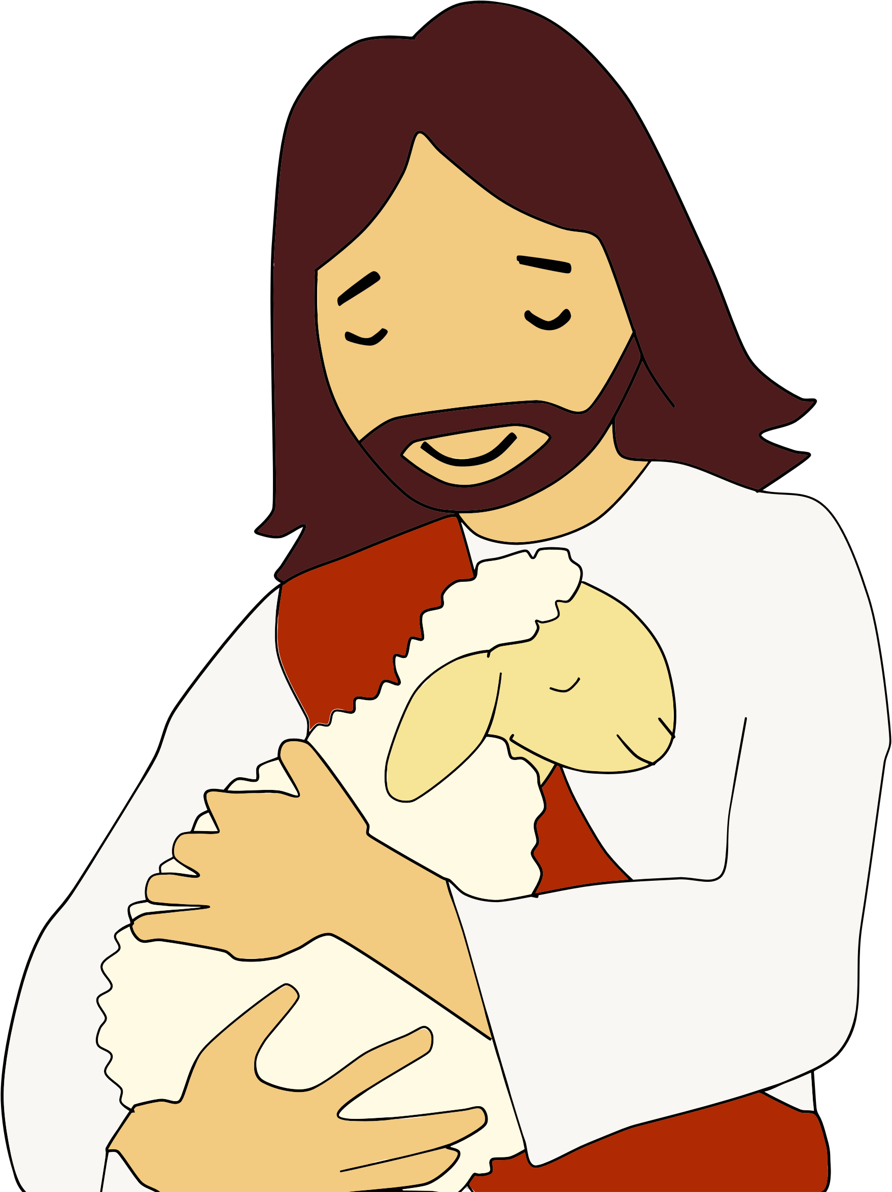 Lamb clipart cross, Lamb cross Transparent FREE for download.