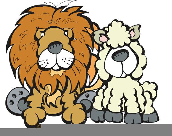 Lion and lamb clipart 2 » Clipart Station.