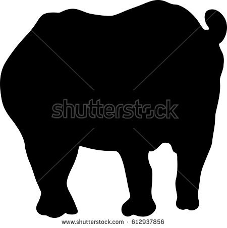 Lamb Silhouette Stock Vector 263638256.