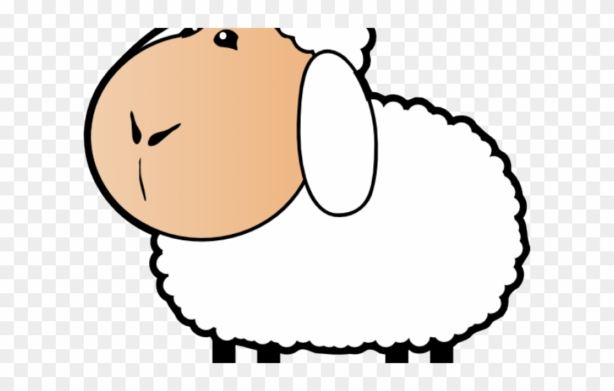 Small Clipart Sheep.