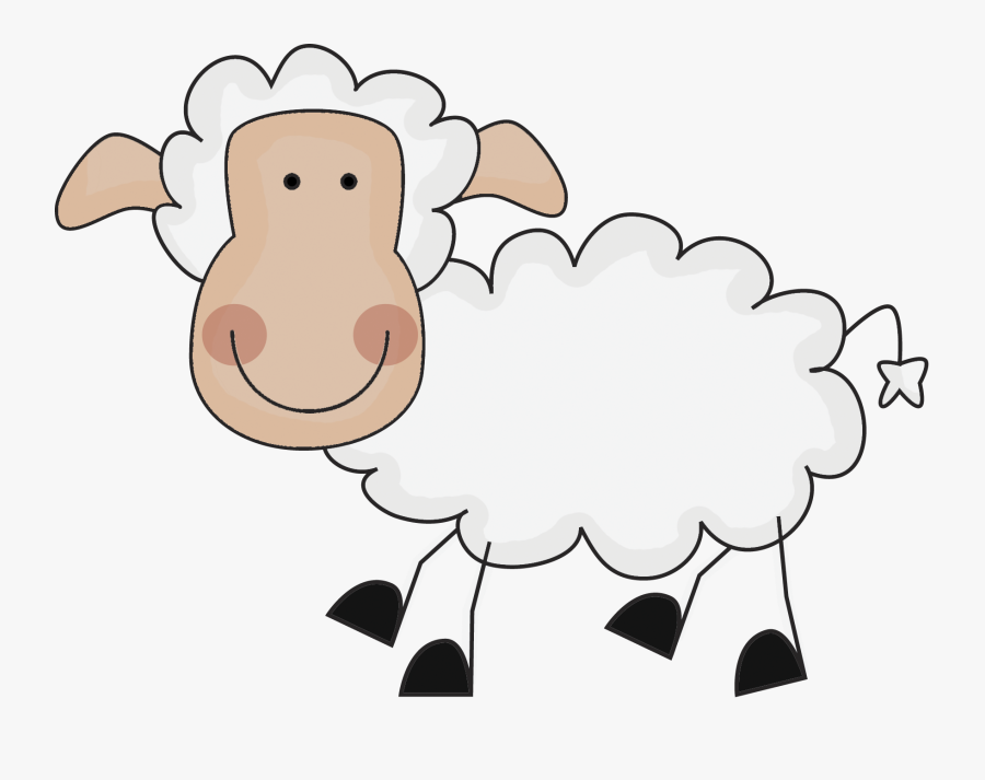 Sheep Clipart Transparent Background , Png Download.