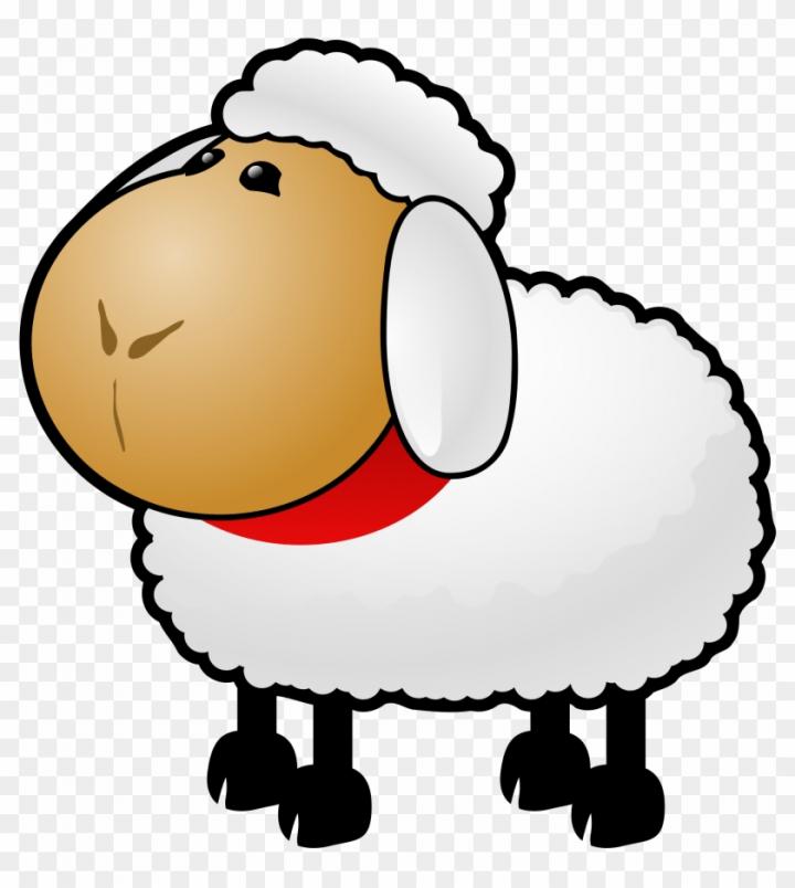 Sheep Black And White Sheep Lamb Clipart Black And.